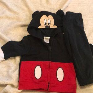 Mickey Mouse 18 month zip up sweatshirt